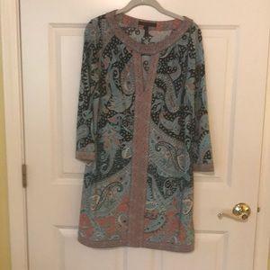 BCBG paisley print dress